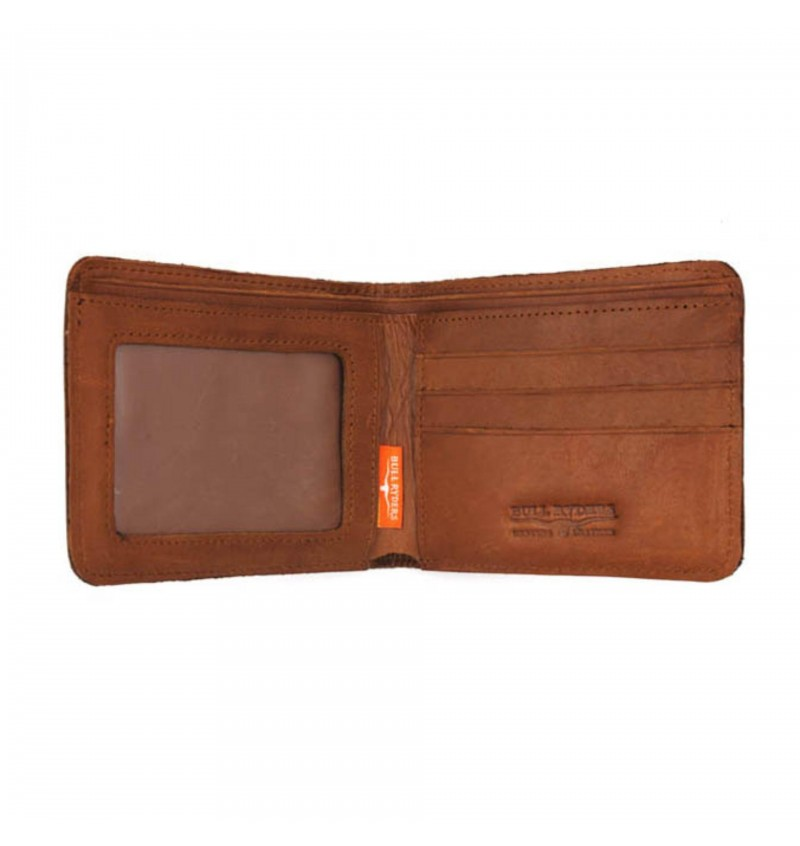 BULL RYDERS Premium Genuine Leather Wallet BWFE-80294