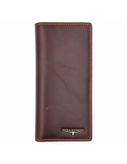 BULL RYDERS Genuine Leather Long Wallet BWEM-80210