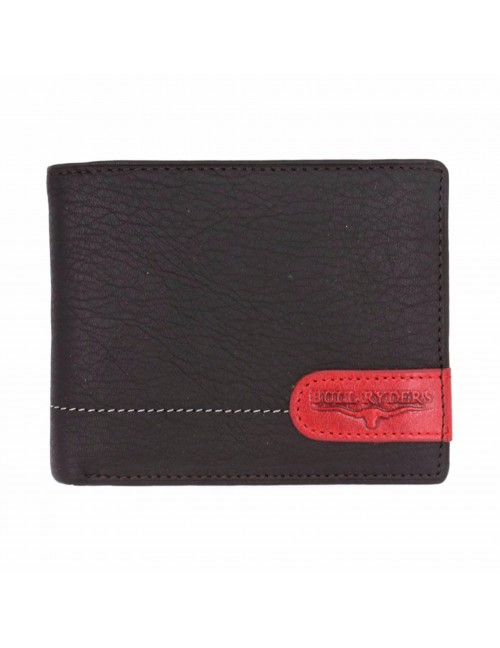 BULL RYDERS Genuine Leather Wallet BWED-80159