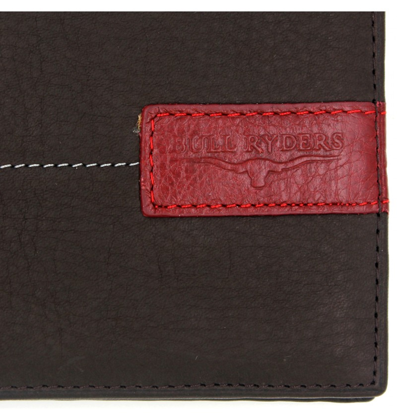 BULL RYDERS Genuine Leather Wallet BWEE-80165