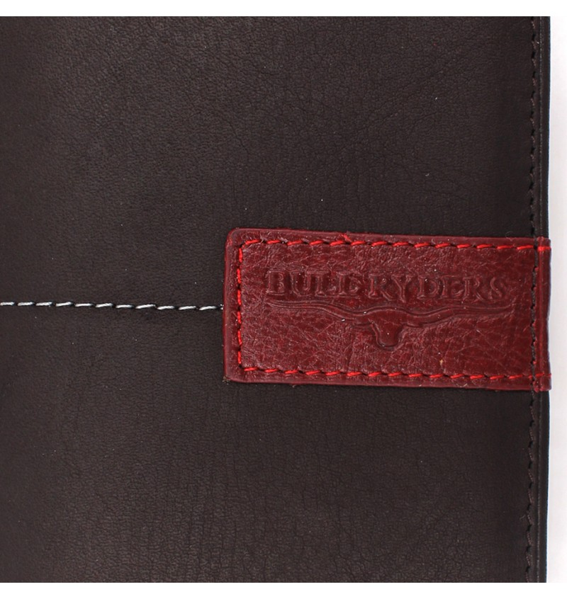 BULL RYDERS Genuine Leather Wallet BWEE-80169