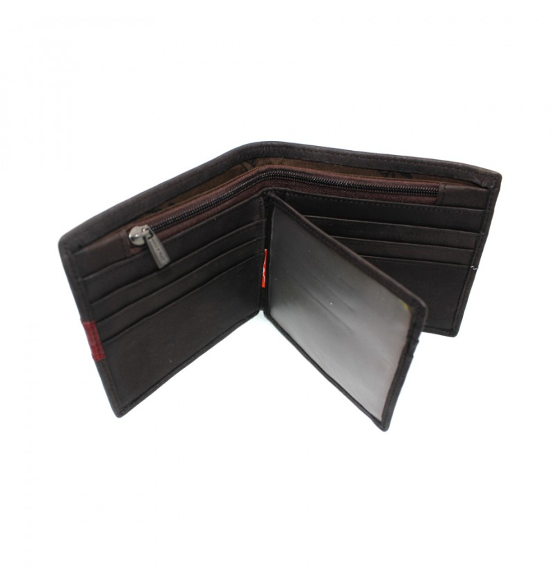 BULL RYDERS Genuine Leather Wallet BWEE-80167