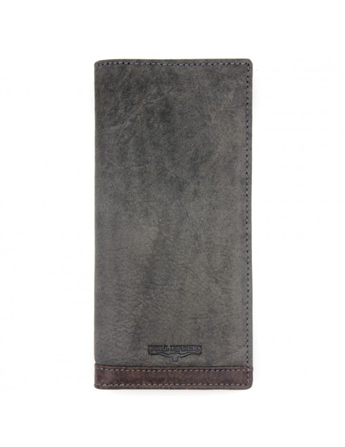 BULL RYDERS Genuine Leather Long Wallet BWEJ-80193