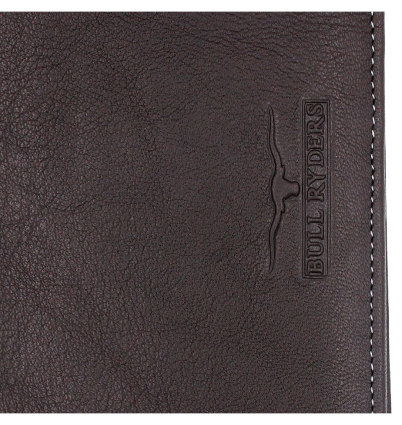 BULL RYDERS Genuine Leather Long Wallet BWDA-80066