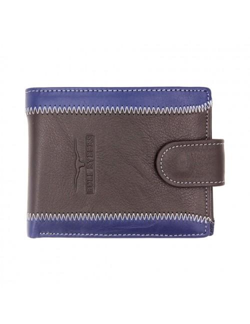BULL RYDERS Genuine Leather Wallet BWDA-80065