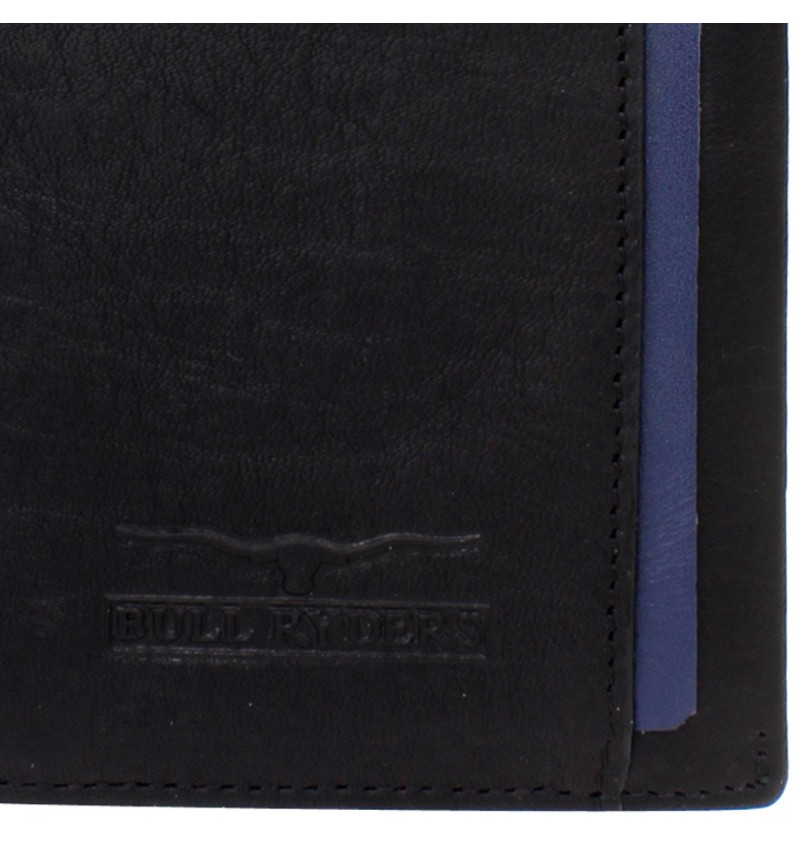 BULL RYDERS Genuine Leather Long Wallet BWCZ-80061