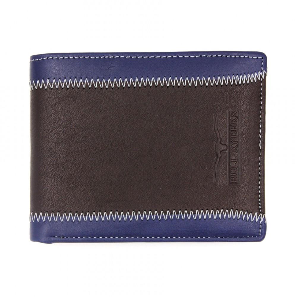 BULL RYDERS Genuine Leather Wallet BWDA-80063