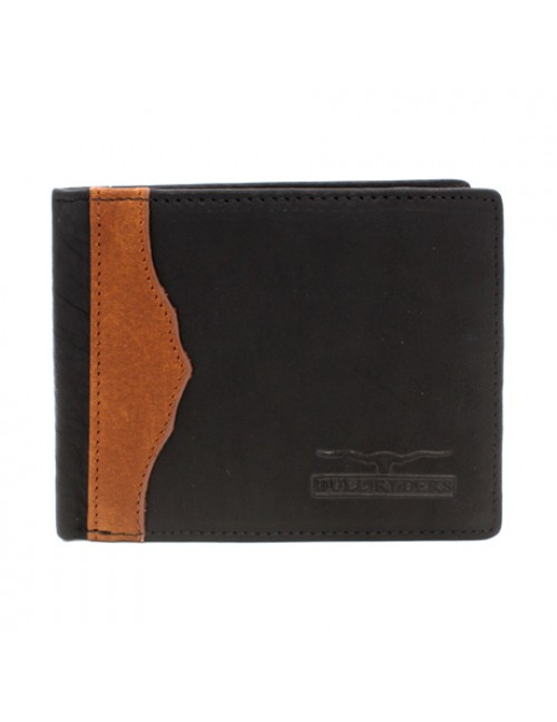 BULL RYDERS Genuine Leather Bifold Wallet BWDY-80136