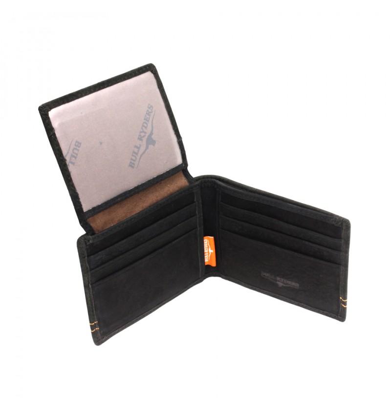 BULL RYDERS Genuine Leather Wallet BWDL-4921AF