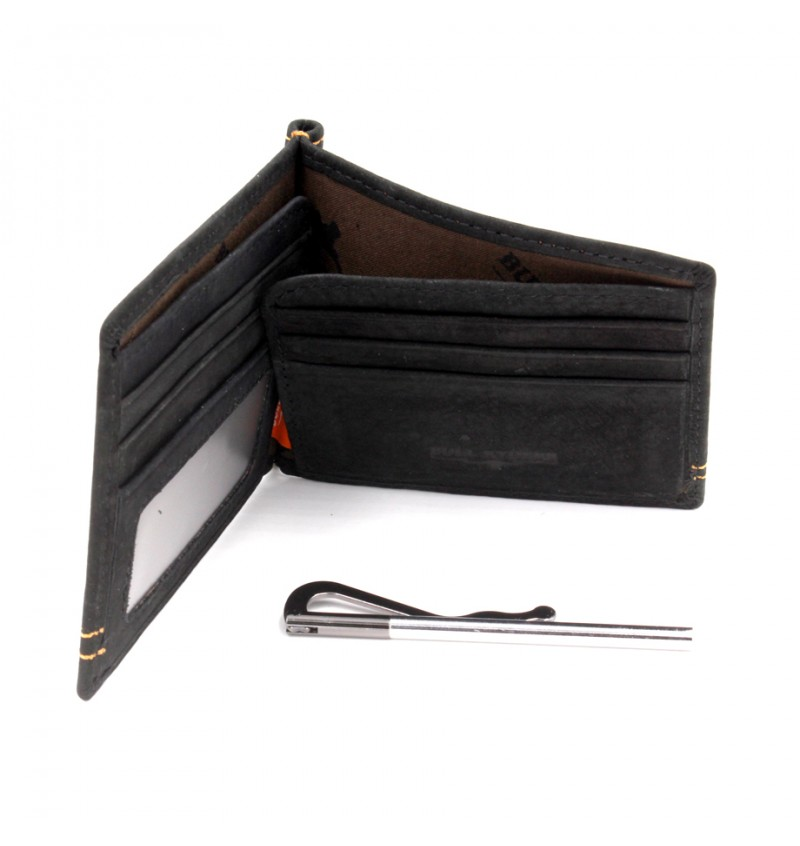 BULL RYDERS Genuine Leather Cash Holder BWDL-3121