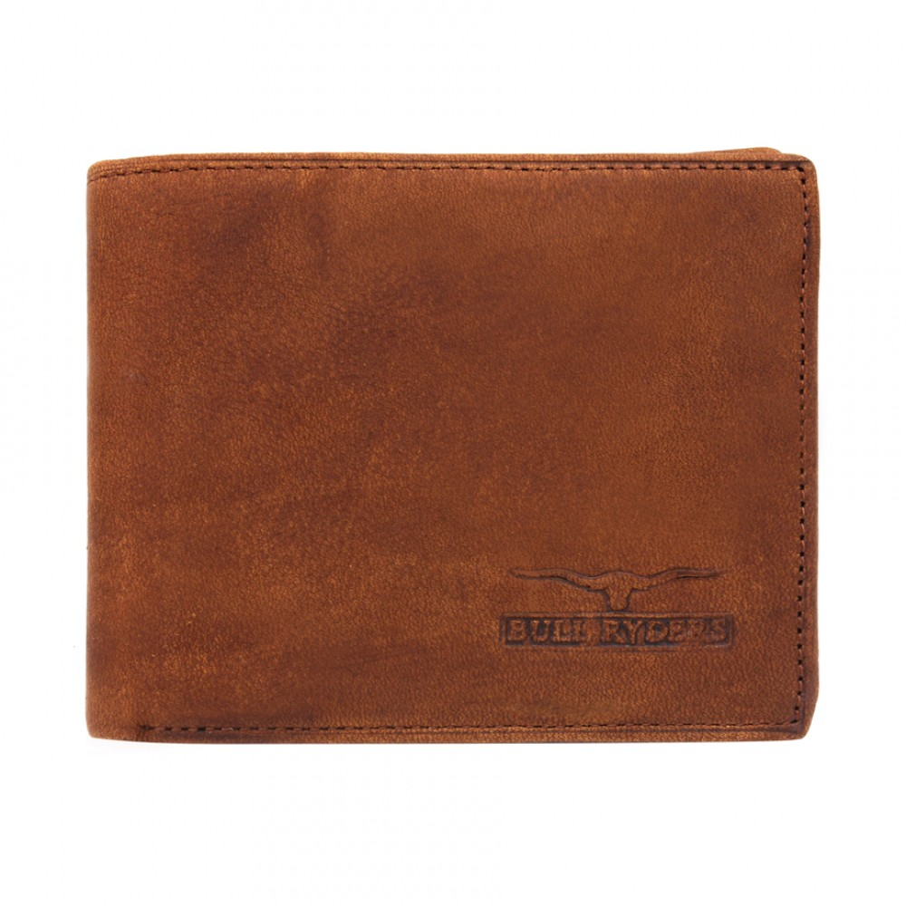 BULL RYDERS Genuine Leather Wallet BWDC-80074