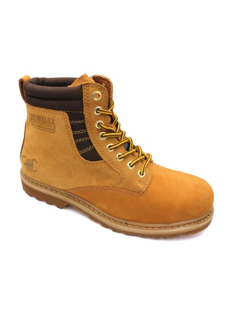 SCORPION Genuine Leather Safety Boots B2608 Honey