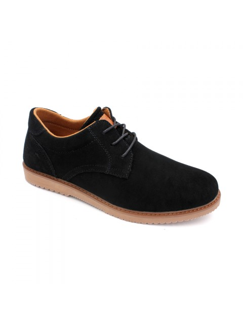 SCORPION Suede Leather Sneaker SC17618 Black