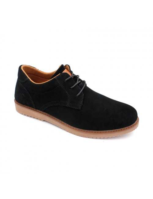 SCORPION Suede Leather Sneaker SC17618 Black