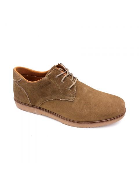 SCORPION Suede Leather Sneaker SC17618 Khaki