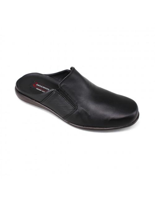 EAGLE HUNTER Handmade Leather Loafer EH60556 Black