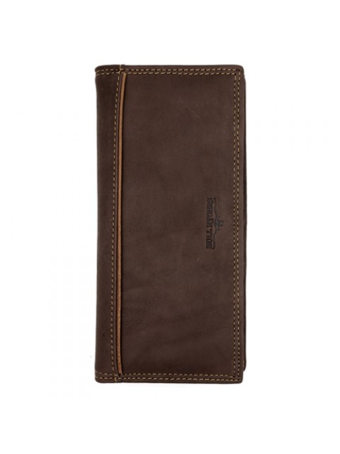 BULL RYDERS Genuine Leather Long Wallet BWFW-80400