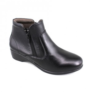 EAGLE HUNTER Women Handmade Genuine Leather Boots EH90344 Black