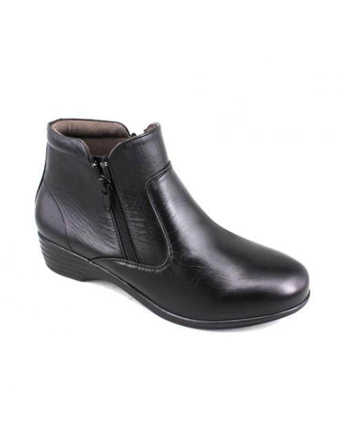 EAGLE HUNTER Women Handmade Genuine Leather Boots EH90344 Black