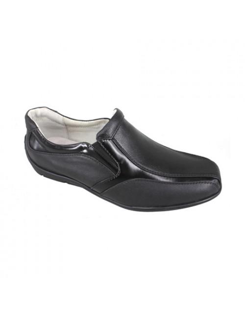 EAGLE HUNTER Men Handmade Genuine Leather Formal Shoes EH8138B Black