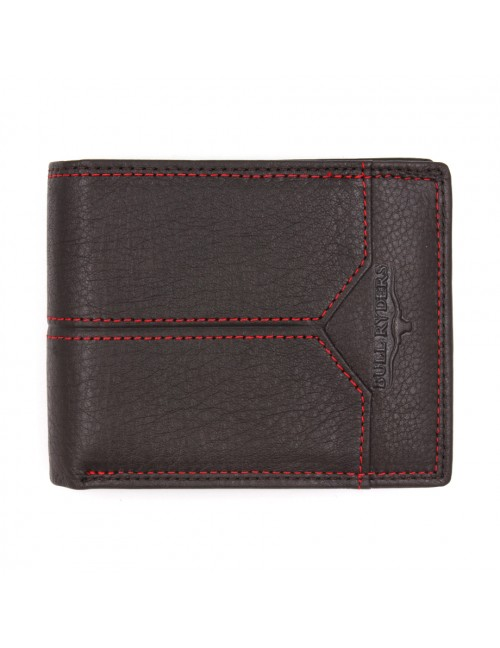 BULL RYDERS Genuine Cow Leather Wallet BWFL-80337