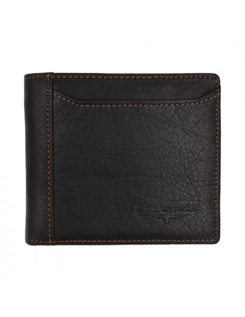 BULL RYDERS Genuine Cow Leather Wallet BWGD-80437