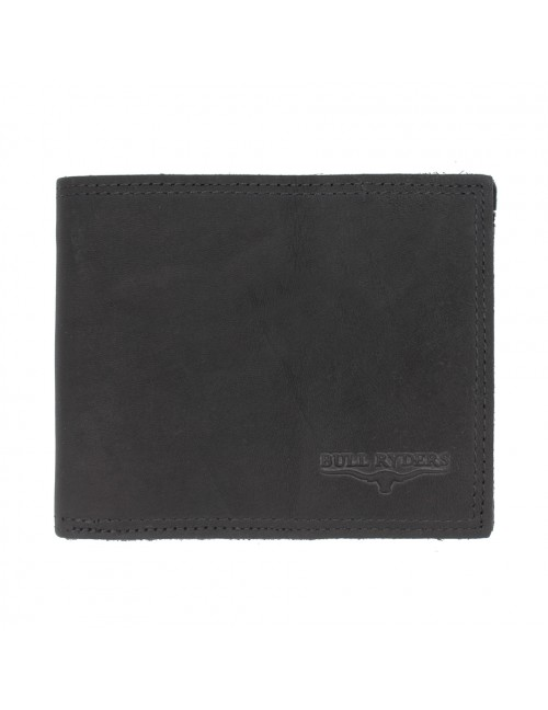 BULL RYDERS Premium Genuine Cow Leather Wallet BWFD-80290