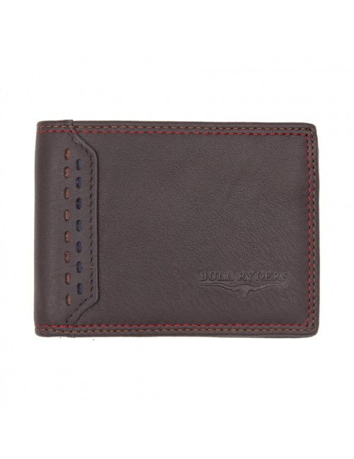 BULL RYDERS Genuine Cow Leather Wallet BWGF-80449