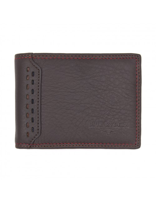 BULL RYDERS Genuine Cow Leather Wallet BWGF-80450