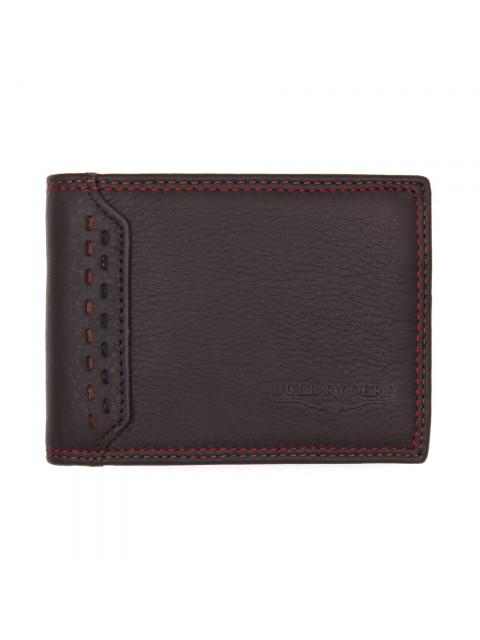 BULL RYDERS Genuine Cow Leather Wallet BWGF-80451