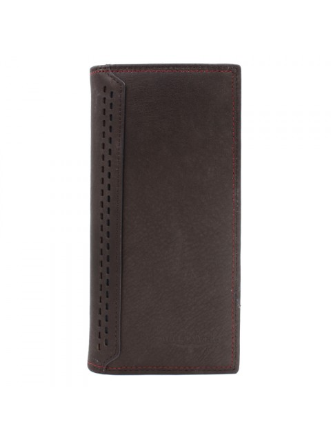 BULL RYDERS Genuine Cow Leather Long Wallet BWGF-80453