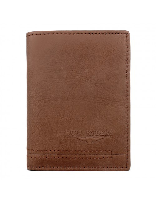 BULL RYDERS Genuine Cow Leather Small Wallet BWGL-80482