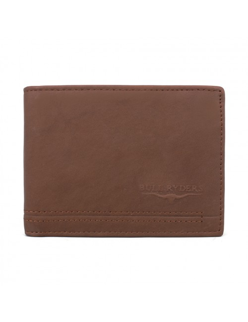 BULL RYDERS Genuine Cow Leather Wallet BWGL-80484