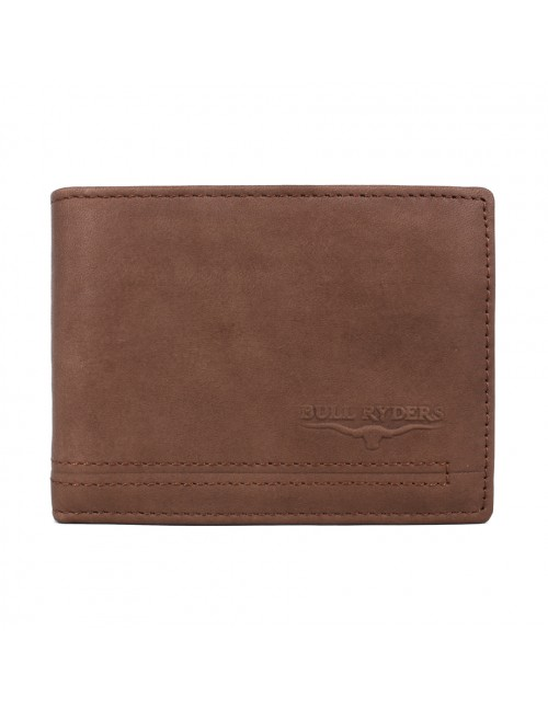BULL RYDERS Genuine Cow Leather Wallet BWGL-80485