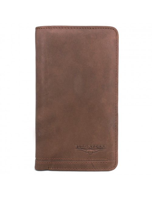 BULL RYDERS Genuine Cow Leather Long Wallet BWGL-80487