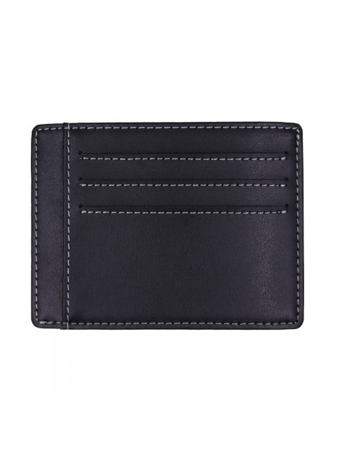 MIDZONE Genuine Leather Card Holder MZWW190502 Black