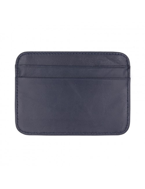 MIDZONE Genuine Leather Card Holder MZWW190501_B Blue