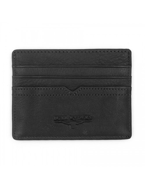 BULL RYDERS Genuine Leather Card Holder BWDG-80101 Black