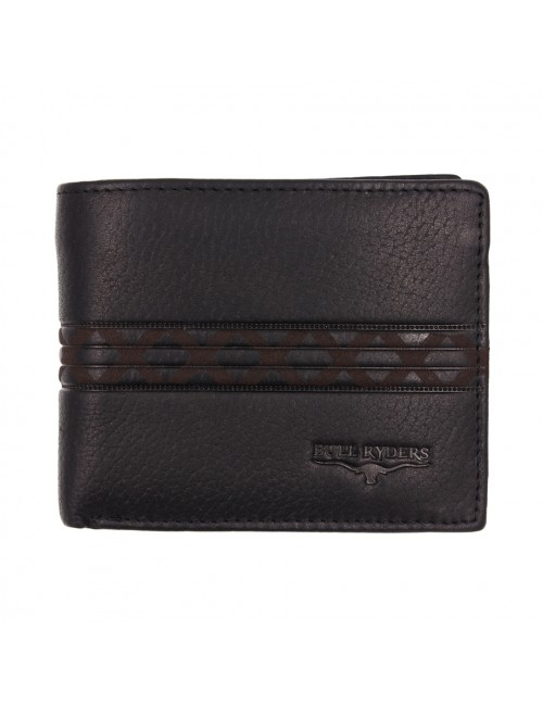BULL RYDERS Genuine Cow Leather Wallet BWHE-80600