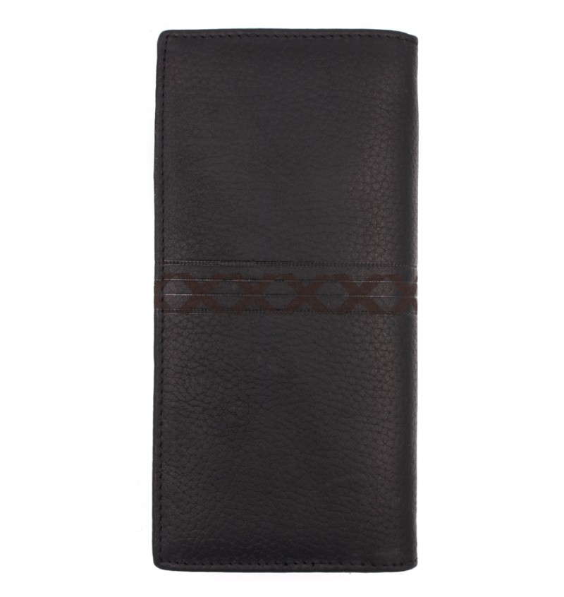 BULL RYDERS Genuine Cow Leather Long Wallet BWHE-80601