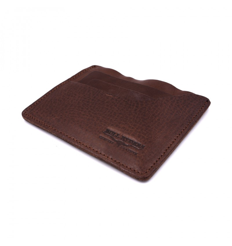 BULL RYDERS Genuine Cow Leather Card Holder BWGM-80488