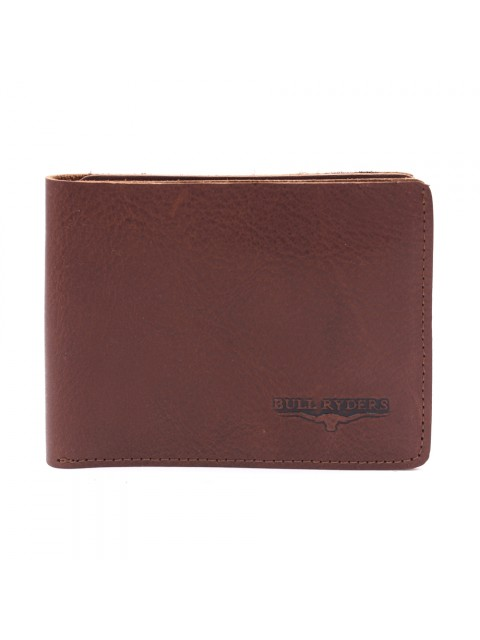 BULL RYDERS Premium Genuine Cow Leather Wallet BWGM-80489