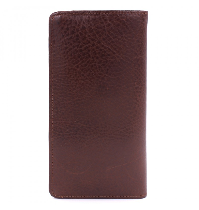 BULL RYDERS Premium Genuine Cow Leather Long Wallet BWGM-80492