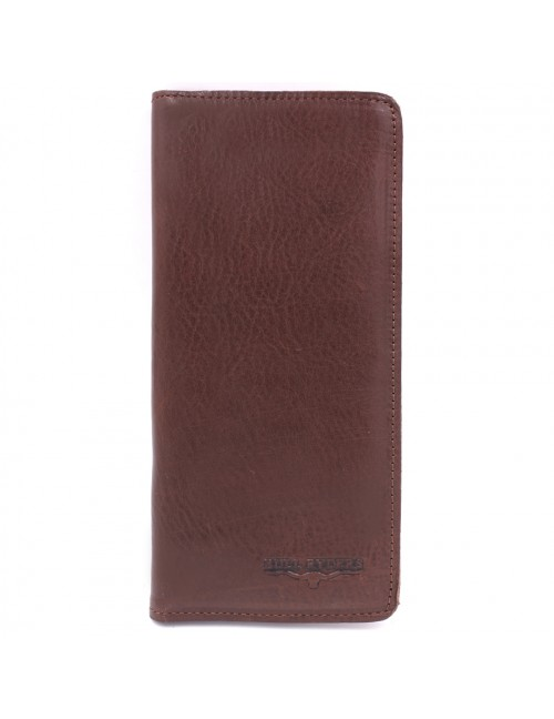 BULL RYDERS Premium Genuine Cow Leather Long Wallet BWGM-80493