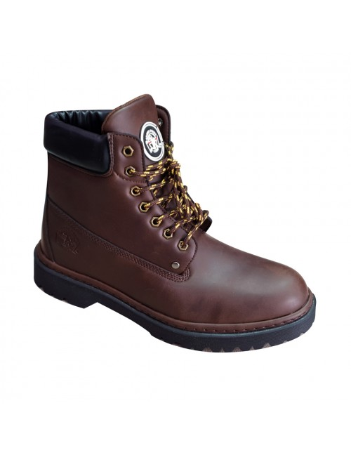 MIDZONE Casual Boots EHOT8806-93 Coffee