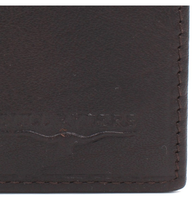 BULL RYDERS RFID Protection Genuine Cow Leather Wallet BWGP-80501