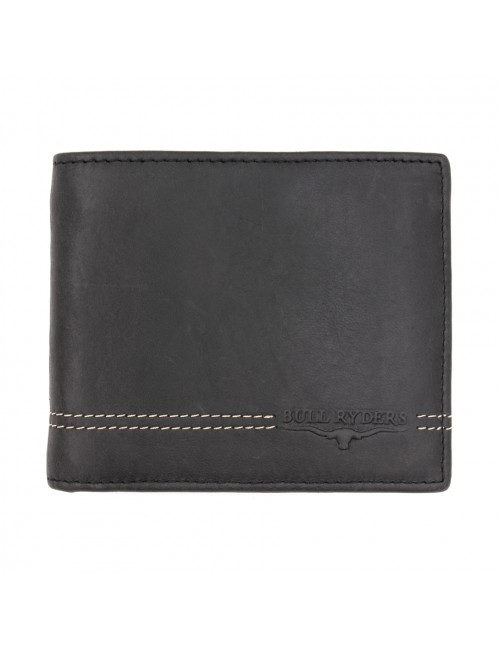 BULL RYDERS Genuine Cow Leather Wallet BWGU-80539