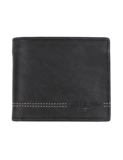 BULL RYDERS Genuine Cow Leather Wallet BWGU-80541