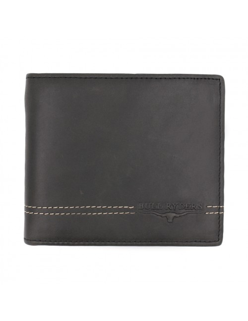 BULL RYDERS Genuine Cow Leather Wallet BWGU-80542