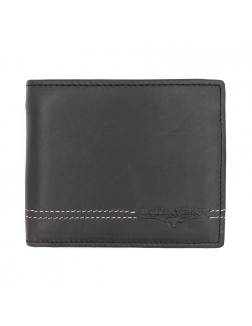 BULL RYDERS Genuine Cow Leather Wallet BWGU-80543